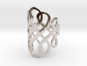 Celtic Knot Ring Size 11 in Platinum