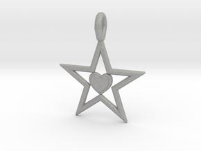 Pendant Of Star in Aluminum