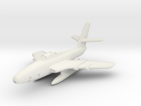 Republic RF-84F Thunderflash (In Flight) 6mm 1/285 in White Natural Versatile Plastic
