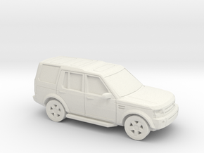1/87 2004-09 Land Rover Discovery in White Natural Versatile Plastic