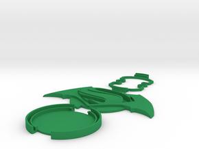 Protofabrica Custom Lens Cap Dawn Of Justice in Green Processed Versatile Plastic