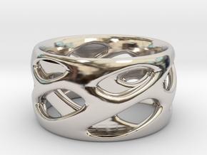 Ring Eye in Rhodium Plated Brass