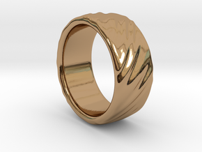 Canvas Ring - 20mm in Polished Brass