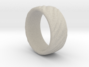 Canvas Ring - 20mm in Natural Sandstone
