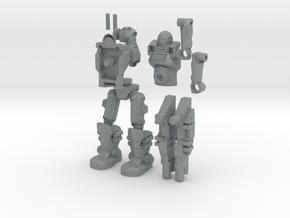 Sci Fi Trooper_2.5inches in Polished Metallic Plastic