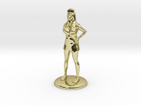 Nurse with Needle - 28 mm version in 18k Gold Plated
