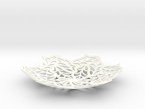 Bon Bon Dish - 5.4 inch in White Processed Versatile Plastic