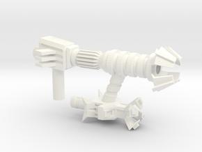 DECEPTICON HUNTER SWIPER [5mm port] in White Processed Versatile Plastic