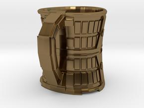 Coffee Mug in Polished Bronze