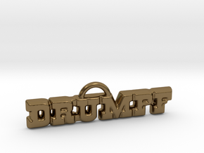 Drumpf Pendant in Polished Bronze