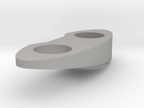 Top Piece - Right - Solid 10 Deg in Raw Aluminum