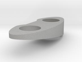 Top Piece - Right - Solid 10 Deg in Aluminum