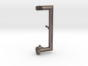 Punctuation - Brackets in Polished Bronzed Silver Steel