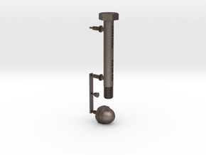 Punctuation - Exclamation Point in Polished Bronzed Silver Steel