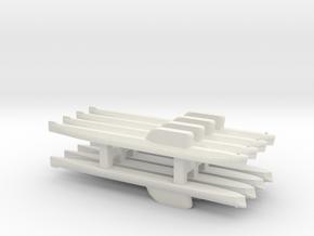 Hotel-Class SSBN x 8, 1/2400 in White Natural Versatile Plastic