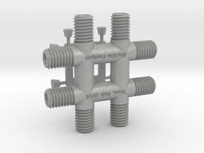 Punctuation - Pound (Octothorpe) in Aluminum