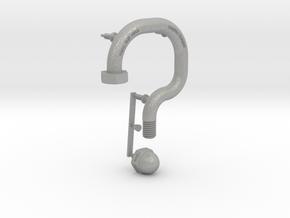 Punctuation - Question Mark in Aluminum