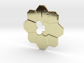 Pokemon badge in 18k Gold