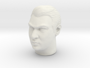 Ronnie Kray headsculpt in White Natural Versatile Plastic