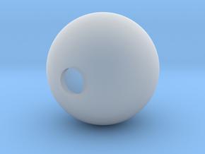 Goofy Bolt Accessories - Sphere 18mm diameter in Smooth Fine Detail Plastic