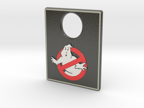 Pinball Plunger Plate - Ghost Bustin 1 in Glossy Full Color Sandstone