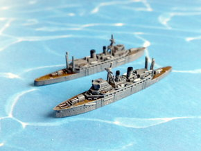 IJN Jingei / Chogei Submarine Tender 1/1800 in Smooth Fine Detail Plastic