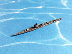 German Submarine Cruiser Type XIb 1/1800 in Smooth Fine Detail Plastic
