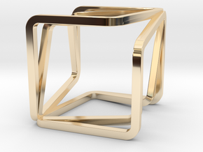 YOUCUBE II Charms. Use different colors and materi in 14K Yellow Gold