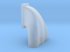 1/43 3 Eq Hole Inj Hat For 14-71 Kobelco Blower in Frosted Ultra Detail
