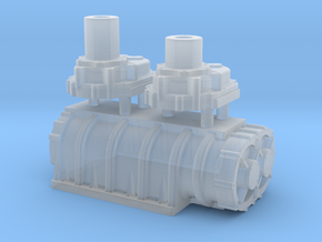1/43 Scale 14-71 Kobelco Blower in Smooth Fine Detail Plastic