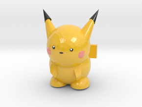 Pikachu in Glossy Full Color Sandstone