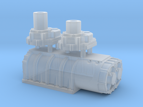 1/32 Scale 18-71 Kobelco Blower in Smooth Fine Detail Plastic