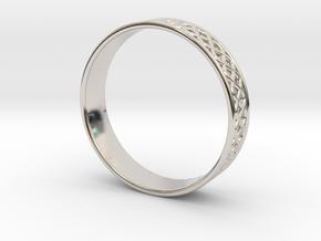 Ornamental Ring in Platinum