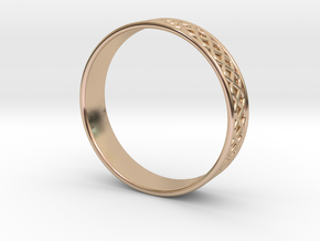 Ornamental Ring in 14k Rose Gold Plated