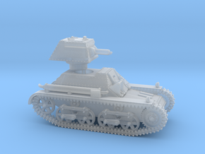 Vickers Light Tank Mk.IIb (28mm scale) in Smooth Fine Detail Plastic