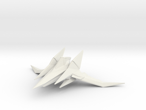 Arwing for X-wing TMG in White Natural Versatile Plastic
