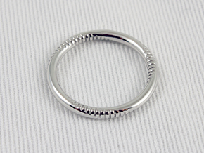 Andromeda in Rhodium Plated Brass