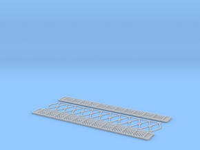 NV6M11 Modular metallic viaduct 3 in Smooth Fine Detail Plastic