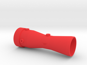 Flow Venturi 27mm in Red Processed Versatile Plastic