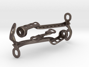 KTM SDR1290 Verkl.halter Verbau Oben  in Polished Bronzed Silver Steel