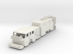 Rosenbauer 1/64 Pumper Tanker Flat Rood in White Natural Versatile Plastic