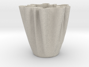 Cloth Cup in Sandstone