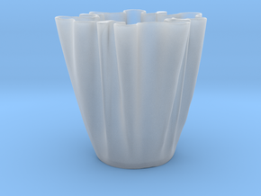 Cloth Cup in Smooth Fine Detail Plastic