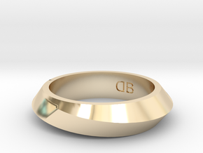 Infinity Ring - Size 6-1/2 in 14K Yellow Gold