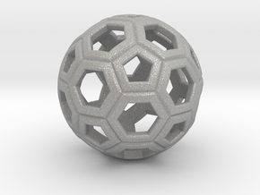 Soccer Ball 1 Inch in Aluminum