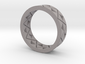 Triforce Ring Size 8 in Full Color Sandstone