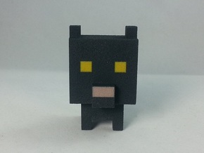 Black Cat Buddy in Full Color Sandstone