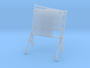 02D-LRV - Open Right Seat in Smooth Fine Detail Plastic
