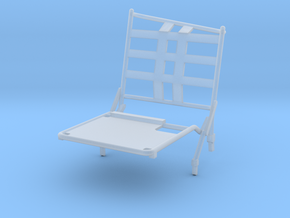 02B-LRV - Closed Right Seat in Smooth Fine Detail Plastic