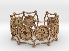Crux Bracelet in Polished Brass